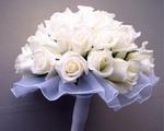 изящный свадебный букет невесты