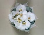 прелестный свадебный букет невесты