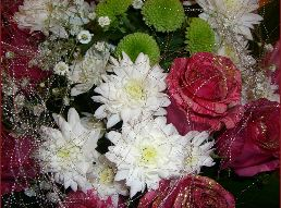 Украшение праздника цветами